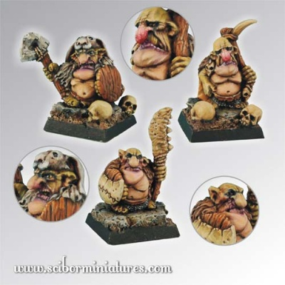 Goblins Warriors Set (3)