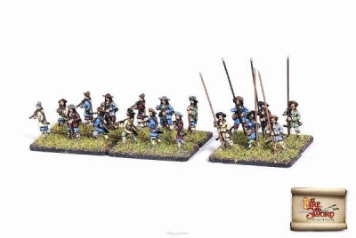 Imperial Infantry - 2 companies (18)