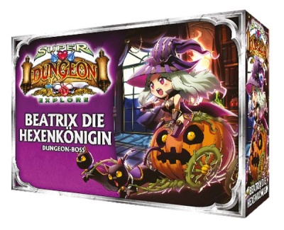 Super Dungeon Explore - DVK - Beatrix die Hexenkönigin