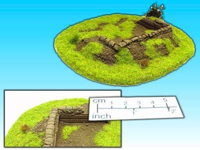 Geländestück Flakstellung (15mm)
