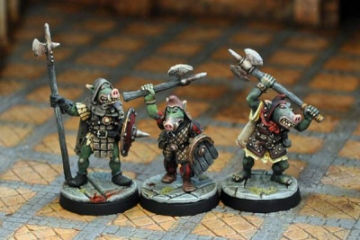Pig-Faced Orc Warriors III (3)
