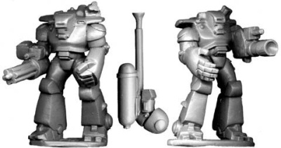 Power-Armour Troopers (2)