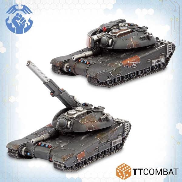 Zhukov AA Tanks