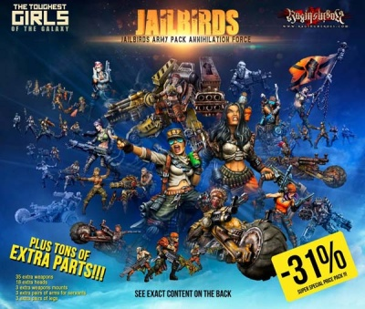 Jailbirds Army Pack Annihilation Force (JB)