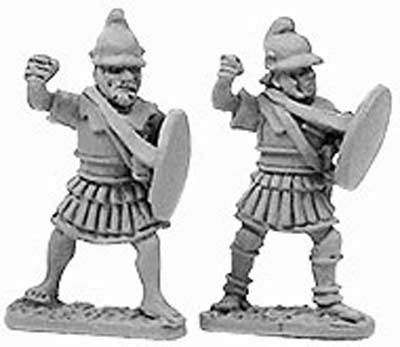 Macedonian Pikemen in Linen Armour (random 8 of 2