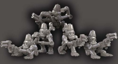 Clockwork Chimps w guns (5)