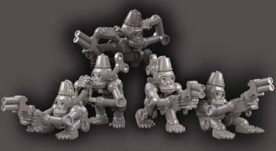 Clockwork Chimps w guns (5)