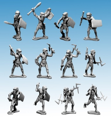 Alien Tribal Warband (10)