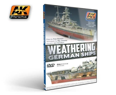 DVD Weathering German Ships