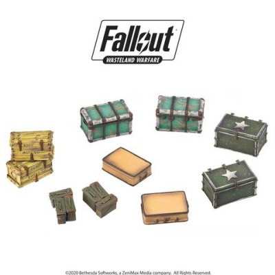 Fallout: Terrain Expansion: Cases and Crates