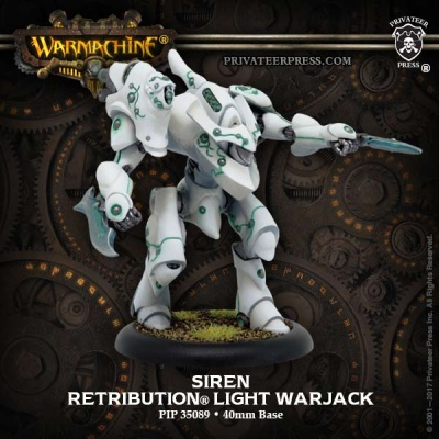 Retribution Siren Light Warjack