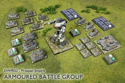Prussian Empire Armoured Battle Group v2.0