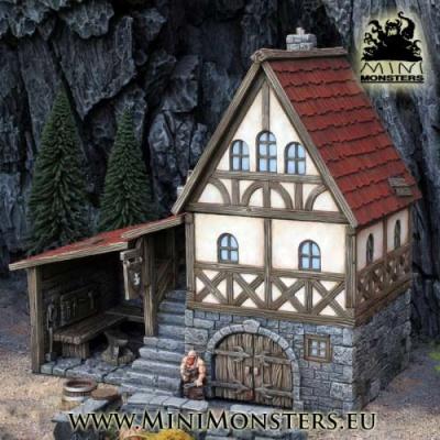 Medieval Blacksmith House