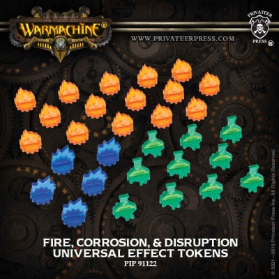 Universal Effect Tokens: Fire, Corrosion, Disruption