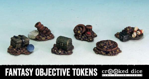 Fantasy Objective Tokens