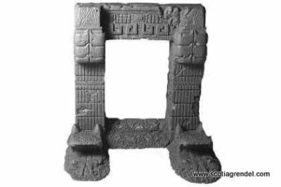 Azteken Eingangstor
