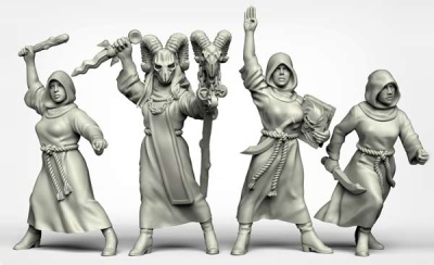 Female Cultists (4)