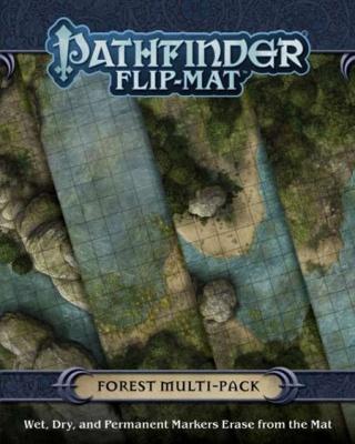 Pathfinder Flip Mat: Forests (Multipack)