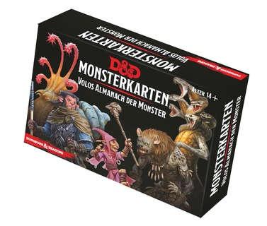 D&D: Monsterkarten - Volos Almanach der Monster