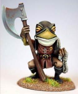 Frosch Scharfrichter