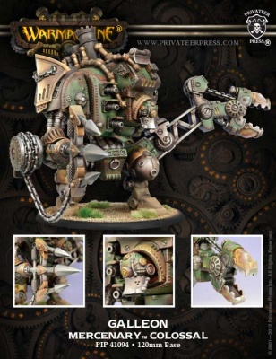 Mercenary Galleon Colossal Box (plastic)