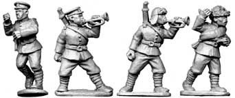 Chinese Buglers & Std. Bearers