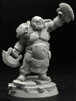 28mm/30mm Ogre Football Player #2