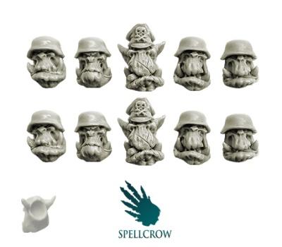 Blitzkrieg Orks Heads (10)