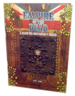 Empire of the Dead Rulebook + Limited Edition Miniature