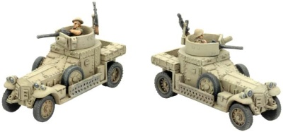 Rolls Royce Armoured Car x2