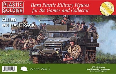 1/72: Allied M3 Halftrack (3)