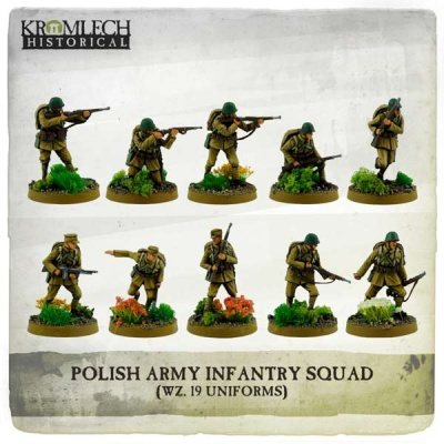 Polish Army Infantry Squad (wz. 19 uniforms) (10)