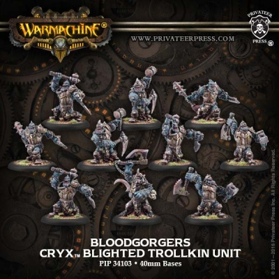 Cryx Blood Gorgers (10) (repack)