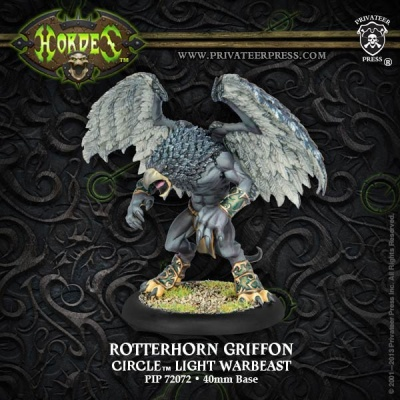 Circle Orboros Rotterhorn Griffon Light Warbeast (plastic)