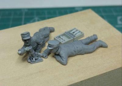 Gebirgsjäger 5cm Mortar Unit
