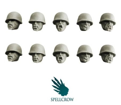 Guards Heads in M1 helmets (10)
