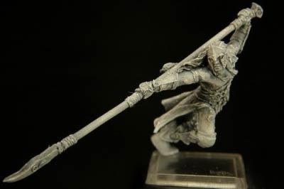 Silvanus Held mit Speer