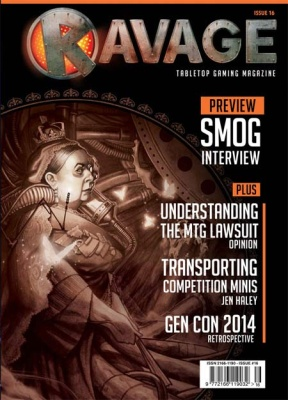 Ravage Magazine #16 (engl)