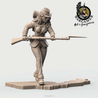 Clara from the Union Infantry (28mm)