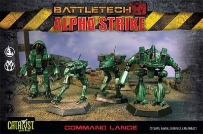 BattleTech Alpha Strike: Command Lance Pack