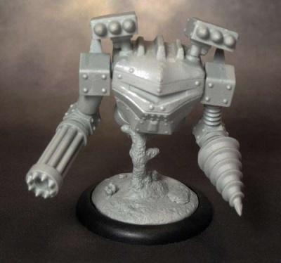 Iron Predator Mech Construct