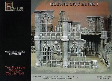 Gothic City Ruins Set 1