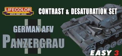EASY 3: German AFV Panzergrau (3)