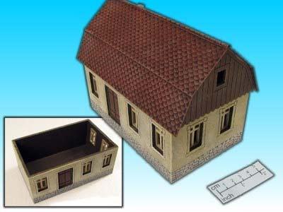 Modulares Haus (mit Dach)