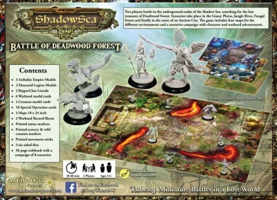 ShadowSea - 2-player starter boxed set - Battle of Deadwood