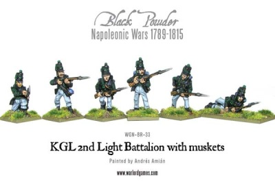 KGL 2nd Light Battalion with muskets (6)