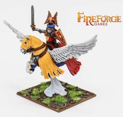 Noble on Pegasus (Fleur de Lys) (1)