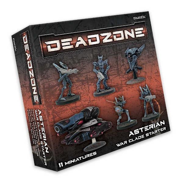 Deadzone Asterian War Clade Starter