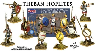 Theban Armoured Hoplites( 5th-3rd BCE)