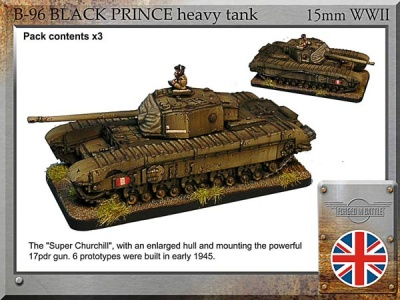 Black Prince heavy tank (3)
